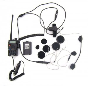 Interkom Radio Baofeng UV-5R COHS BHS300K do 7km