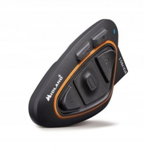 Midland BTX1 PRO S Intercom Bluetooth na 1 kask